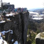 Góry Stołowe- Szczeliniec-- =widok południowy