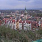 Góry Stołowe- panorama na Kłodzko