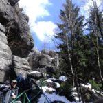 Góry Stołowe- wejście na Szczeliniec