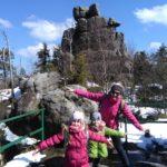 Góry Stołowe- wejście na plac widokowy Północny